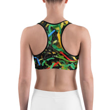 Positively Poppin' Fashion - Sports Bra - DANCEHALL