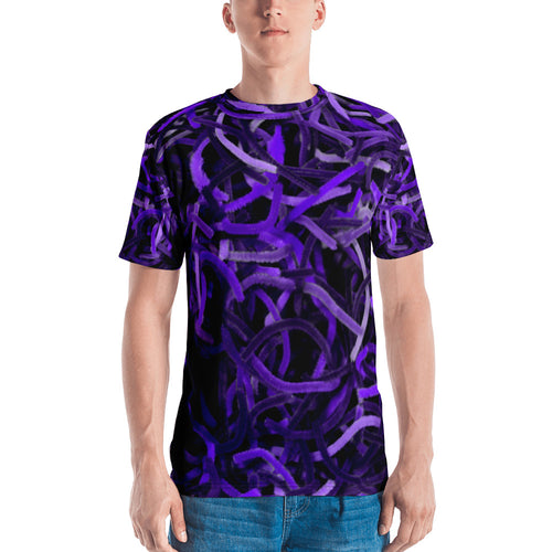 Positively Poppin' Fashion - Men's/Unisex Shirt - PURPLE MARTIN