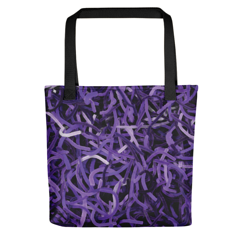 Positively Poppin' Accessories - Tote Bag - PURPLE MARTIN