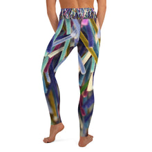 Positive Pop Fashion - Positive Pop Yoga Leggings - BLUE MOON