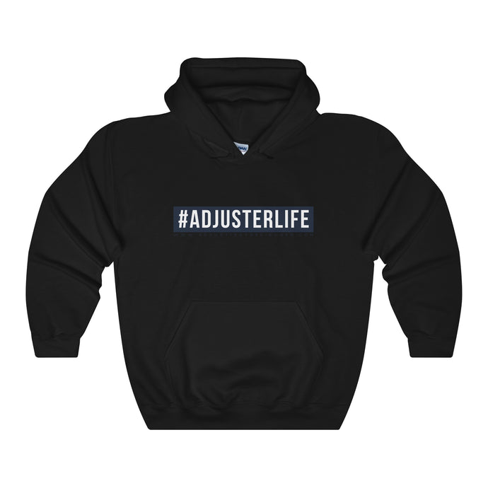 #AdjusterLife Heavy Blend Hooded Sweatshirt - Adjusting to 6 Figures