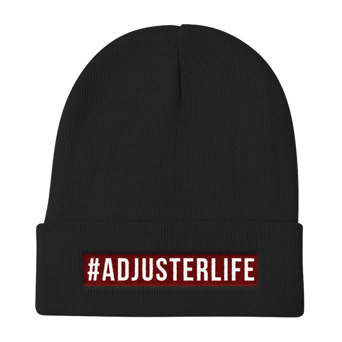 Adjuster Life - Knit Beanie - Adjusting to 6 Figures