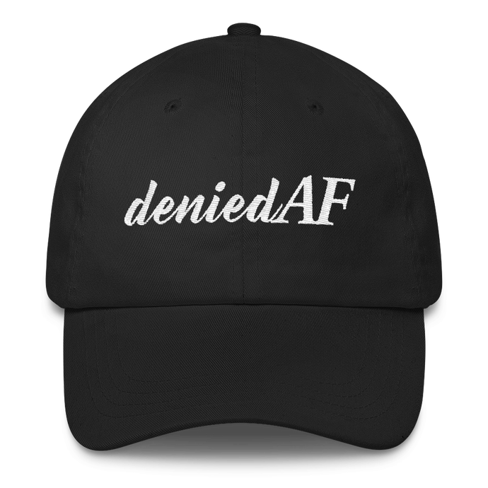 deniedAF Classic Dad Cap - Adjusting to 6 Figures