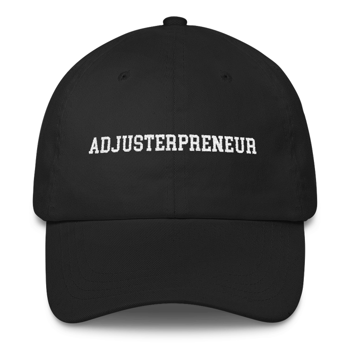 ADJUSTERPRENEUR Classic Dad Cap - Adjusting to 6 Figures