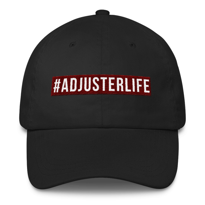#AdjusterLife Classic Dad Cap - Adjusting to 6 Figures