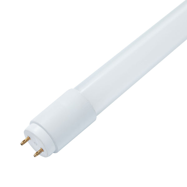 LED T8 Tube Light PG Series | 4ft | Type B | Double Ended Power | 15Watt | 2190Lumens | 5000K | Frosted Lens | Pack of 30 - nothingbutleds.com