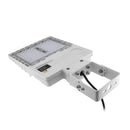 LED Area Light | 150 Watt | 21580 Lumens | 5000k | Yoke Mount | White Housing | UL & DLC Listed | 5 Years Warranty| Led Parking Lot Light | Led Street Light - nothingbutleds.com