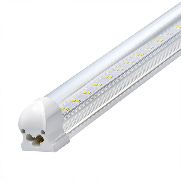 LED Linkable Integrated Tube Light Yonah Series | 4ft | 30Watt | 4200Lumens | 6500K | Clear Lens | Pack of 4 - nothingbutleds.com