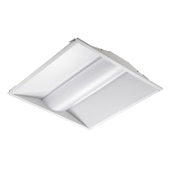 LED Center Basket Troffer Light ZAT Series | 2X2 | 35Watt | 4600Lumens | 5000K - nothingbutleds.com