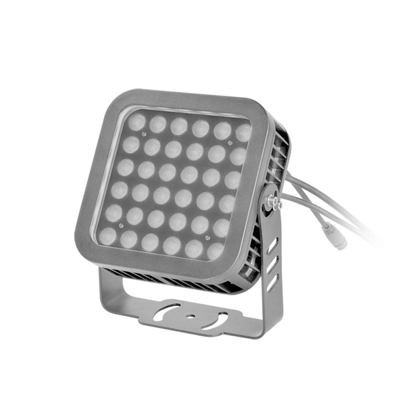 LED Flood Light LSL Series | 36Watt | Beam Angle 36° | RGB | Grey housing - nothingbutleds.com