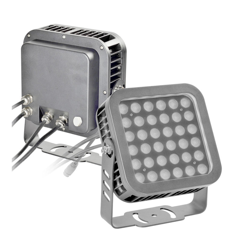 LED Flood Light LSL Series | 36Watt | Beam Angle 36° | RGB | Grey housing