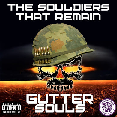 Gutter Souls - The Souldiers That Remain Autographed cd