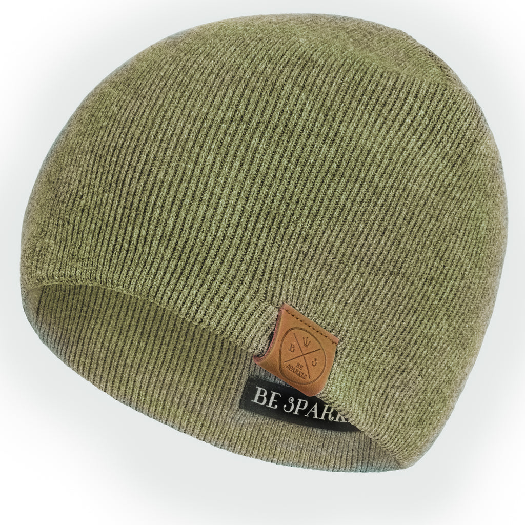 UNISEX BEANIE (GREEN) - Buy Be Sparkle , Fight Cancer