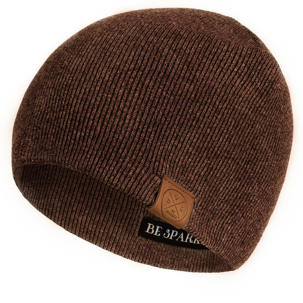 UNISEX BEANIE (BROWN) - Buy Be Sparkle , Fight Cancer