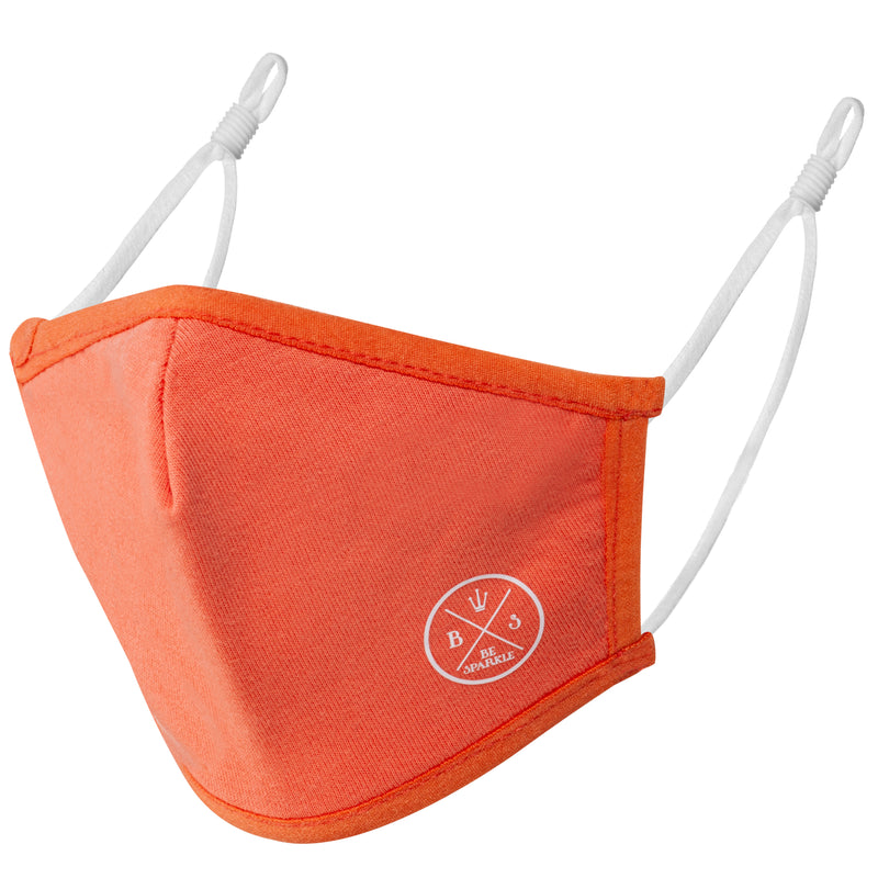 CHILD FACE MASK (ORANGE) - Be Sparkle Fashion