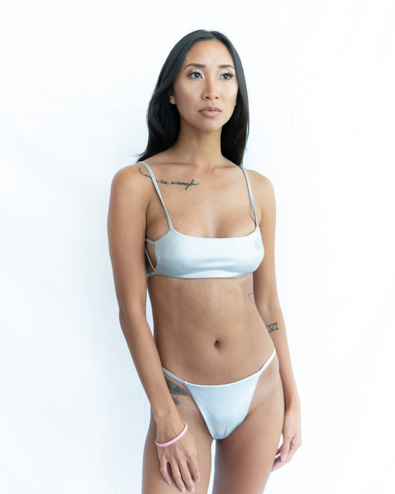 SWIMSUIT (SILVER) - Buy Be Sparkle , Fight Cancer