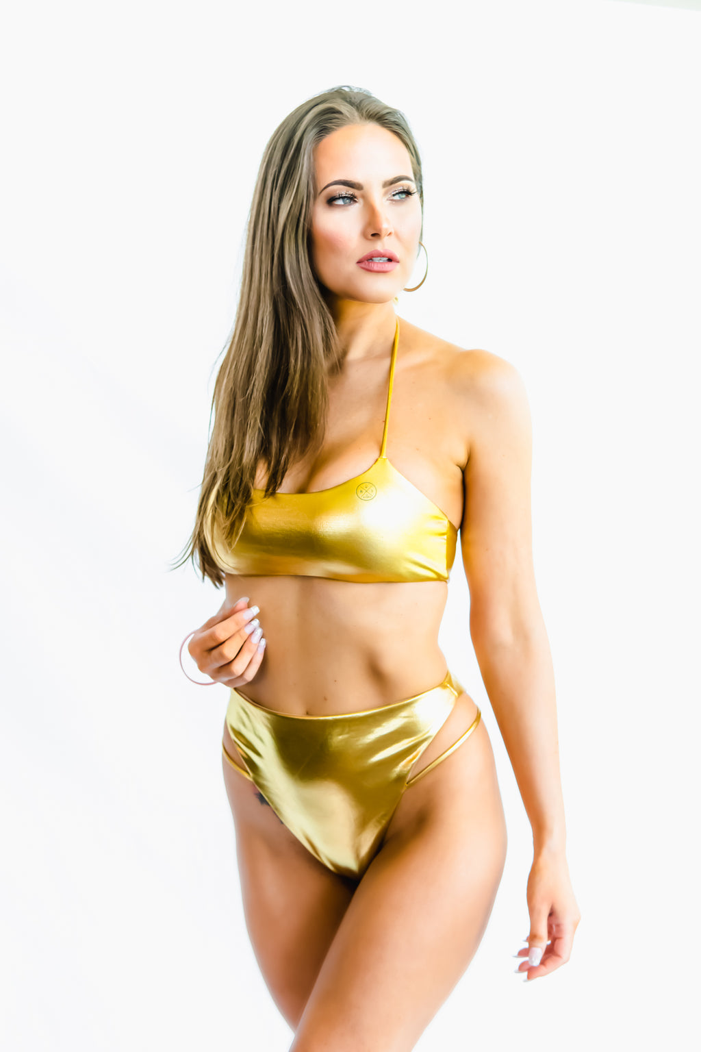 SWIMSUIT (GOLD) - Buy Be Sparkle , Fight Cancer