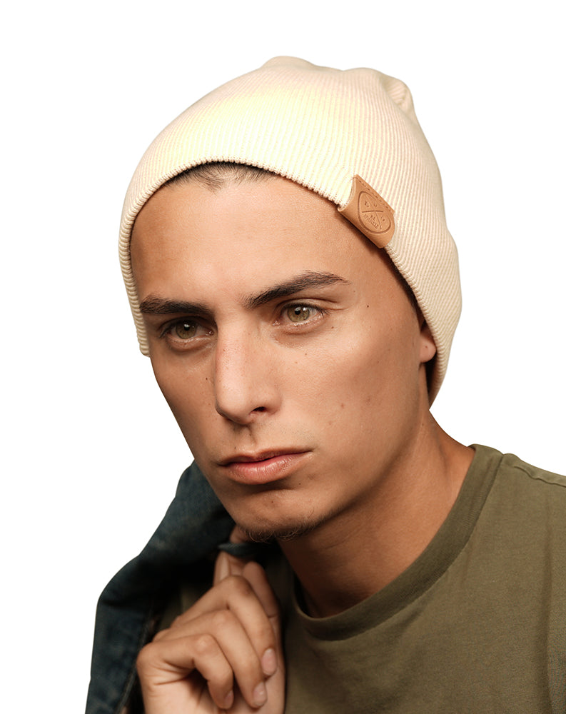 UNISEX BEANIE (BEIGE) - Buy Be Sparkle , Fight Cancer