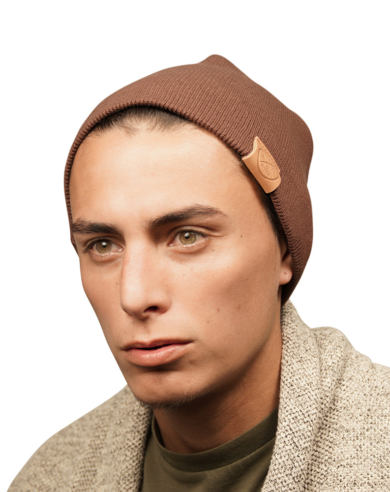 UNISEX BEANIE (BROWN) - Be Sparkle Fashion