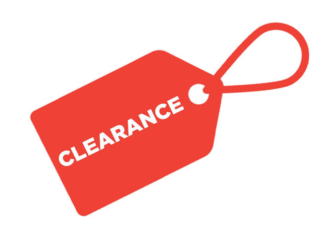 CLEARANCE SALE WHILE STOCKS LAST