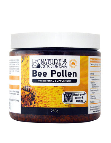 BEE POLLEN GRANULES Dietary Supplement 125g/250g/1kg