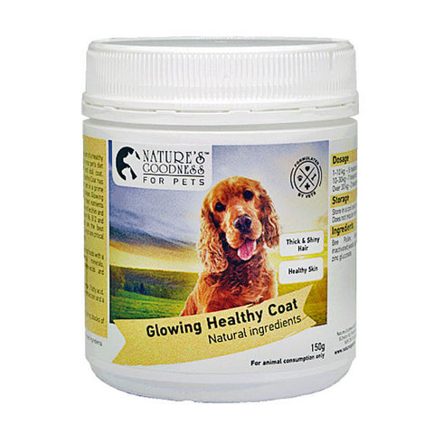 GLOWING HEALTHY COAT FOR PETS 150g