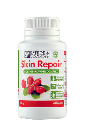 SKIN REPAIR 600mg 60 Capsules JUNE 2021 EXPIRY
