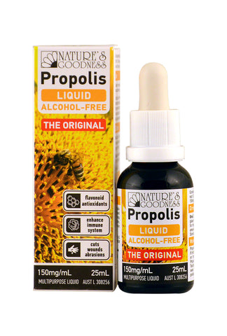 PROPOLIS Alcohol Free Liquid 150mg/mL 25mL