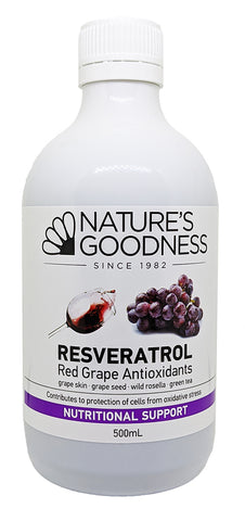 RESVERATROL Red Grape Antioxidants 500ml