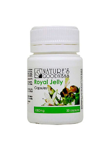 ROYAL JELLY 1000mg 30/100/365 Capsules