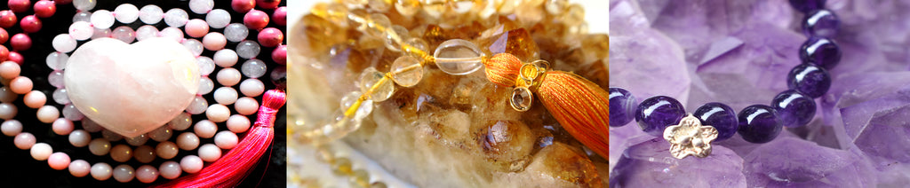 Why do we use crystals in malas?