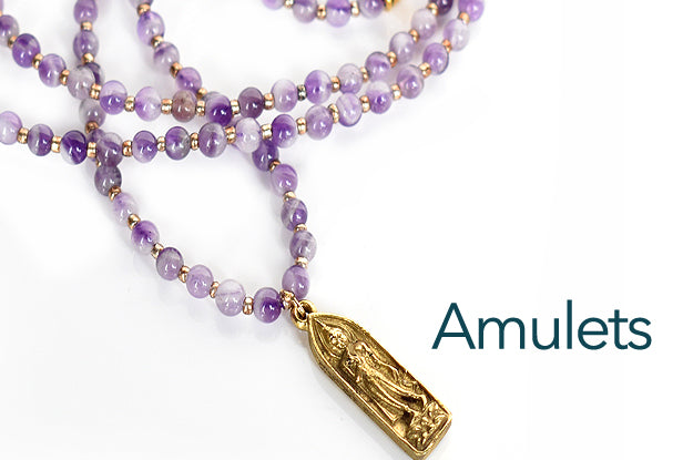 deepen your connection with a sacred handmade amulet