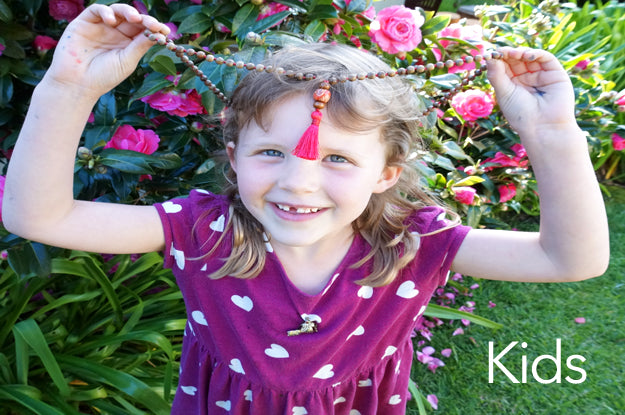 mala style jewelry - especially for kids