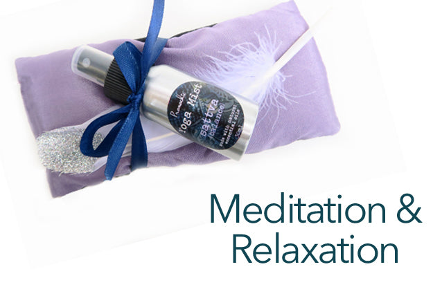 exquisite eye pillows for meditation and relaxation