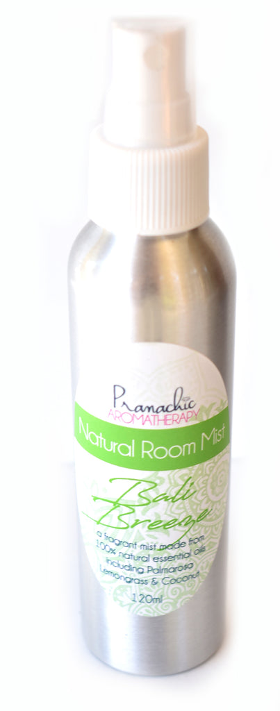 Bali Breeze - the exotic scents of lemongrass, palmarosa and coconut - Pranachic