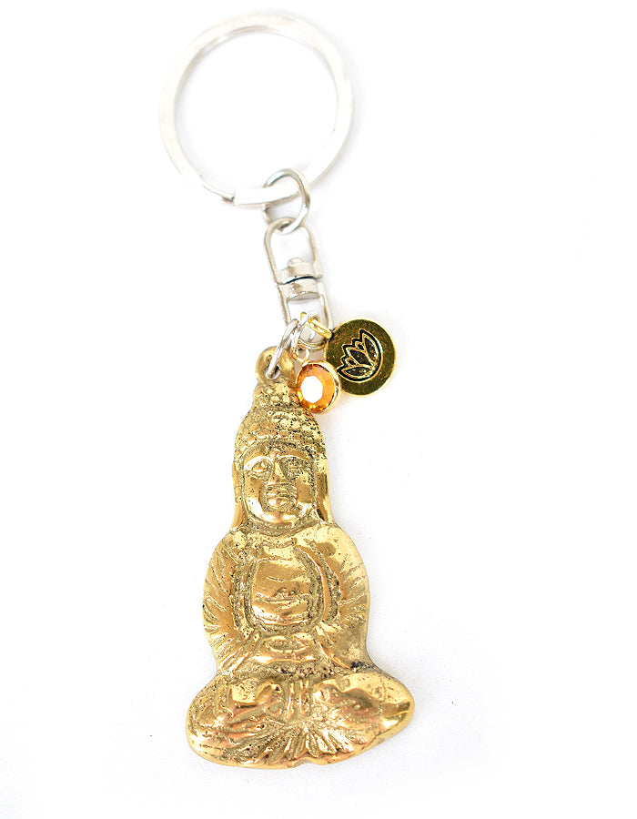 Seated Buddha Key Ring - Pranachic