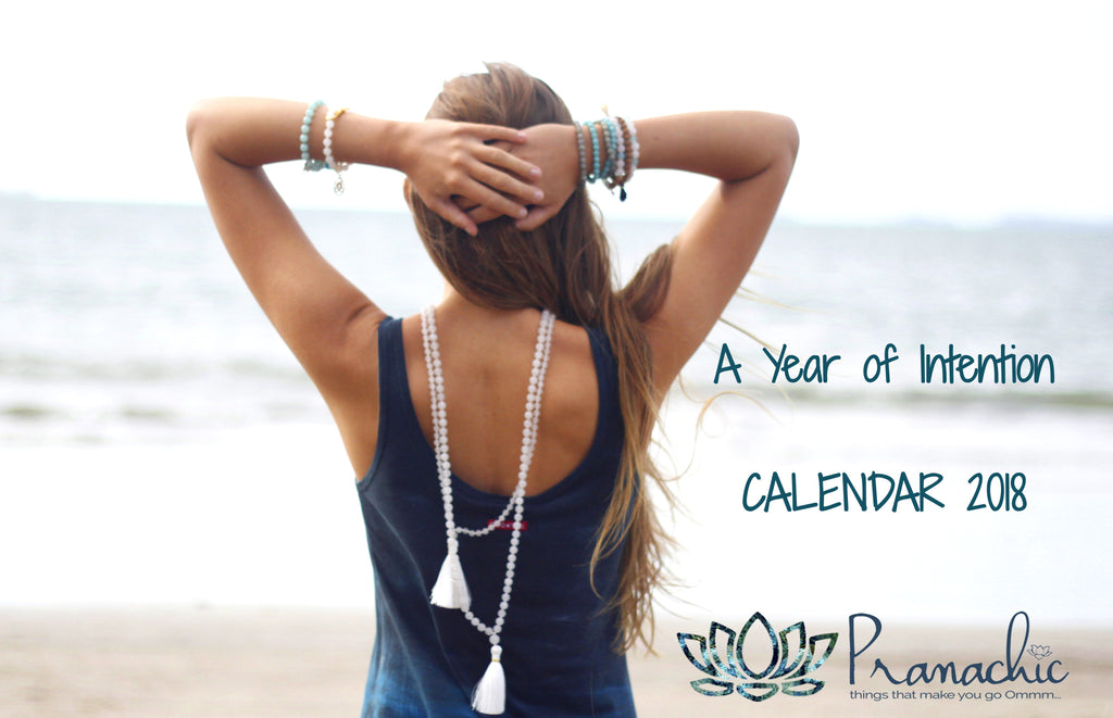 2018 Wall Calendar - A Year of Intention