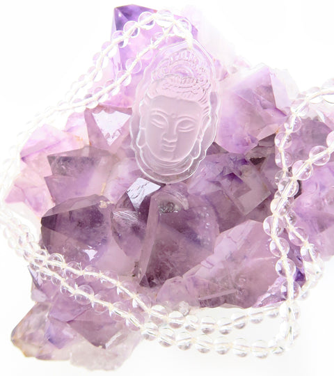 Crystal Goddess Necklace - Pranachic