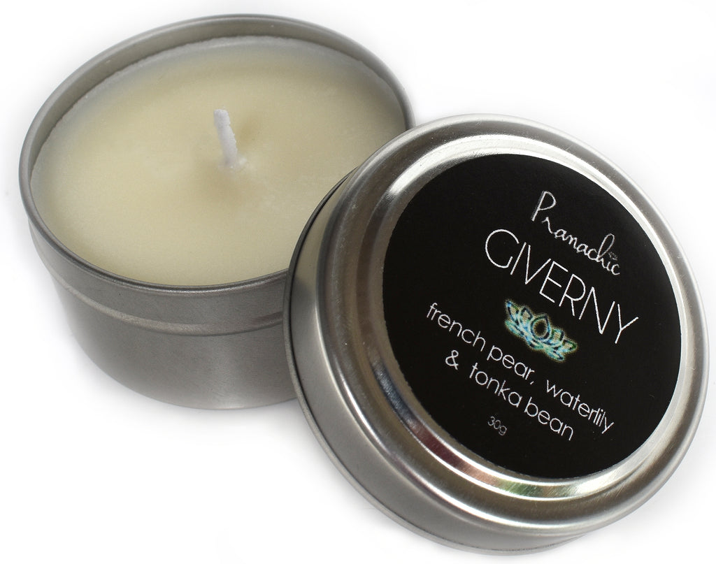 GIVERNY Small Travel Candle
