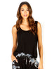 Crop Draped Tank  - SALE - Pranachic
