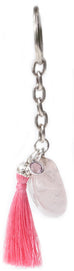Rose Quartz Key Ring - Pranachic