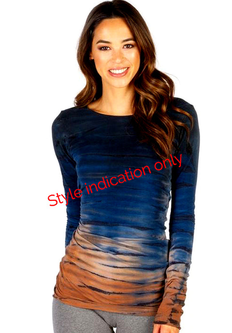 Long Skinny T with Tie Dye - Pranachic