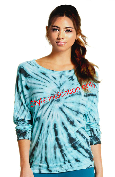 Lightweight Pullover - with Tie Dye - Pranachic