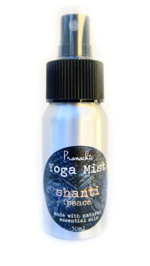 Shanti (Peace) - find inner peace and tranquility with rose, geranium, bergamot and clary sage - Pranachic