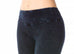 Flat Waist Denim Mineral Wash Ankle Leggings - Pranachic