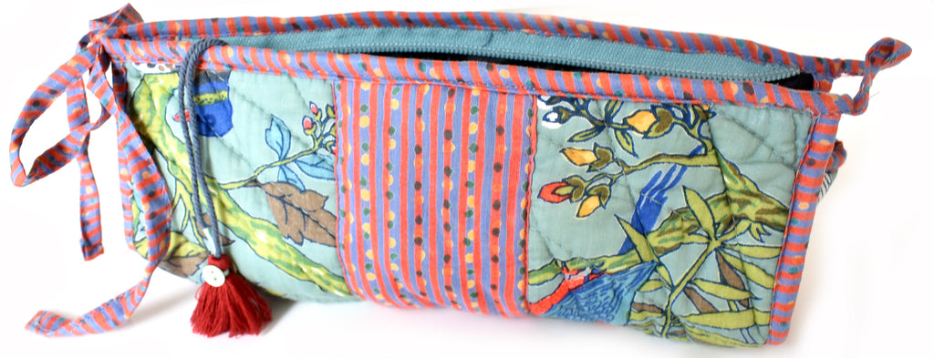 Quilted Bird Bag