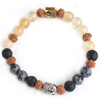 Darkness To Light - Yin Yang Bracelet - Pranachic