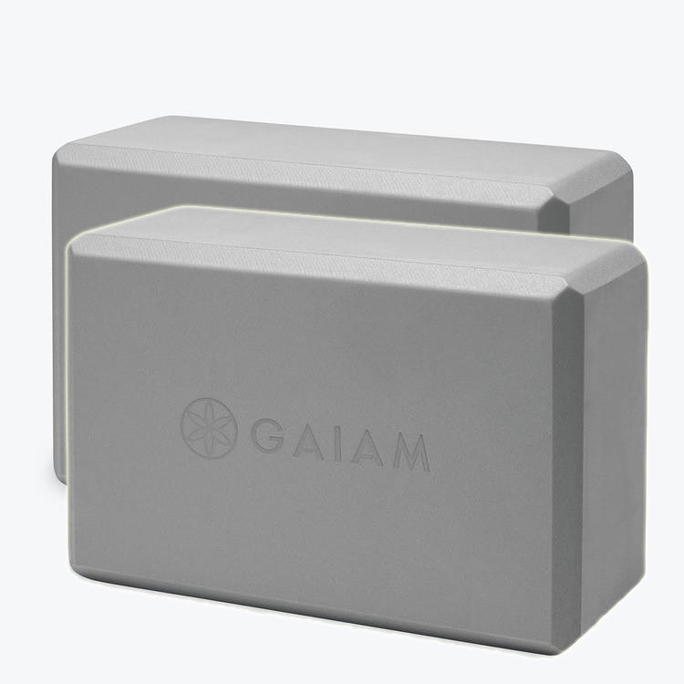 Gaiam Essentials Blocks - pair - Pranachic