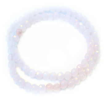 Speak Softly Love - Rose Quartz double - Pranachic