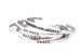 GRACE - Stainless Steel Cuff Bracelet for Women and Men - Pranachic